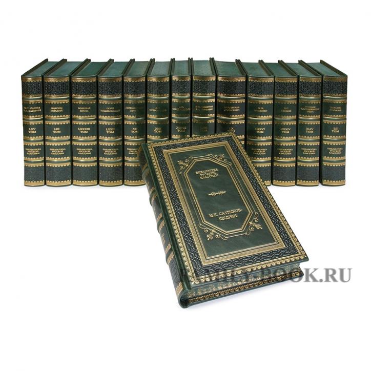 Family-book изготавливает в эксклюзивном кожаном переплете библиотеку русской классики в 100 томах